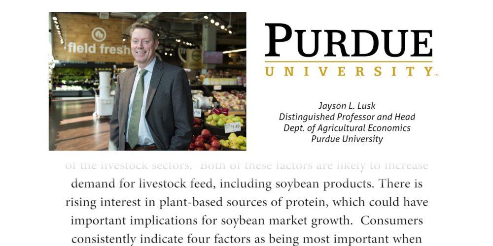 Jayson L. Lusk, Economist, on Growing Livestock Feed Demand
